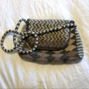Gorgeous Handcrafted Wool Crossbody